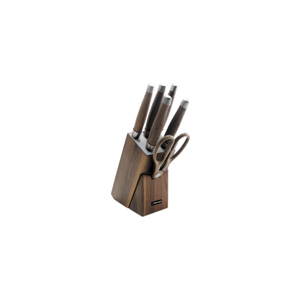 Набор кухонных ножей Rondell Glaymore 7 предметов RD-984