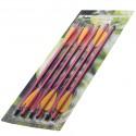 Стрелы для арбалета 6 шт Стрелы AL14/6R (алюминий)