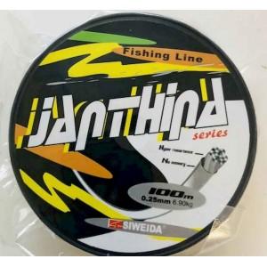 Леска SWD Janthina 0.25мм 6.9кг Bream 100м