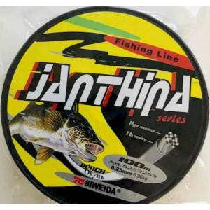 Леска SWD Janthina 0.25мм 6.9кг Perch 100м