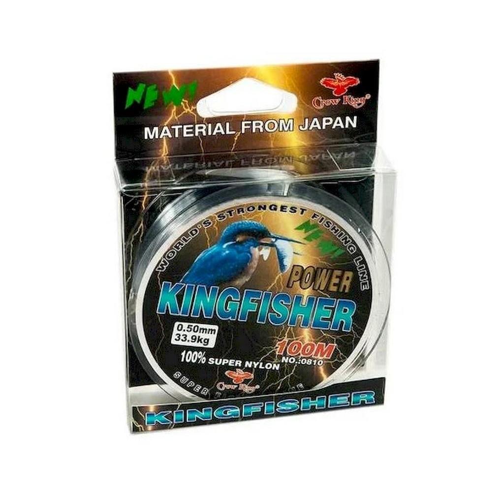 Леска Winner KingFisher 0.18мм 100м 4,9кг светлая