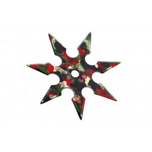 Метательная звезда-сюрикен 8 камуфляж