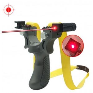 Рогатка спортивная охотничья с лазерным прицелом SYQT и Уровнем