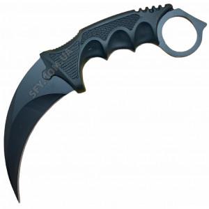Нож керамбит CS GO Ночь (черный)