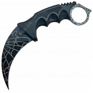 Нож керамбит CS GO Черная паутина