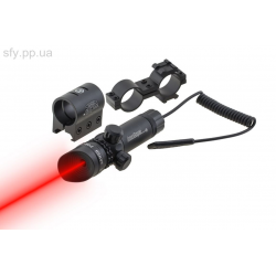 Лазерный целеуказатель jg1/3r (кр луч)