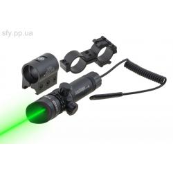 Лазерный целеуказатель jg1/3g (зел луч)