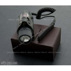 Фонарь с лазерным целеуказателем