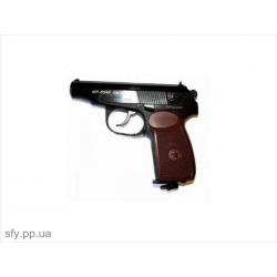 Пистолет пневматический ИЖМЕХ МР-654 (коричневая рукоятка)