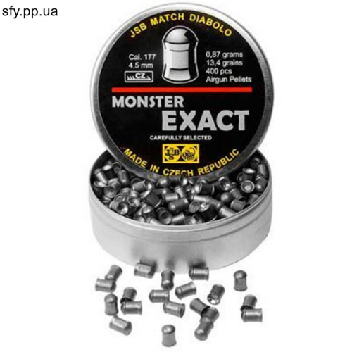 Пули JSB Exact Monster 0.87г 400шт