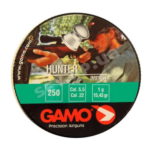 Пуля Gamo Hunter 5.5 250шт 1г