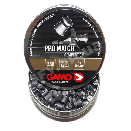 Пуля Gamo Pro Match 5.5 250шт 1г