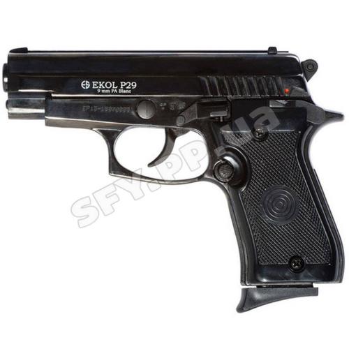 Сигнально шумовой пистолет Ekol P.29 Black