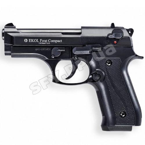 Сигнально шумовой пистолет Ekol Firat Compact Black