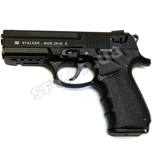 Stalker (Zoraki) 2918 s Black Matte