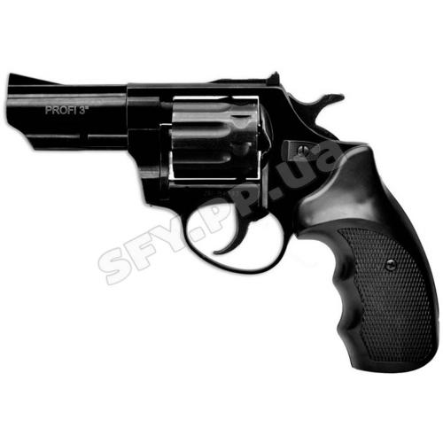 """Револьвер Zbroia profi 3"""" (чёрный / пластик)"""