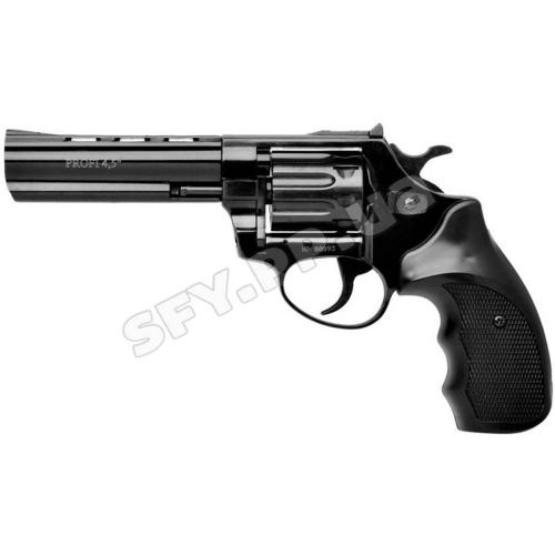 """Револьвер флобера Zbroia profi 4.5"""" (чёрный / пластик)"""