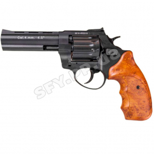 """Револьвер Stalker 4.5"""" чёрный матовый / рукоять под дерево"""