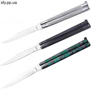 Ножи-бабочки 935 WHITE BLACK CAMO