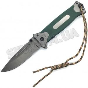 Нож Browning 364 тактический рукоять G10 с титановым покрытием, темляк