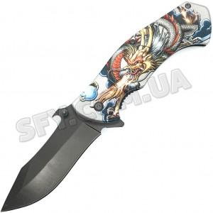 """Складной нож """"Имуги"""" с Драконом"""