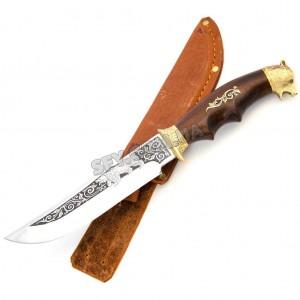 Охотничий нож Спутник Медведь Б
